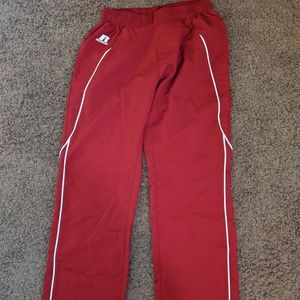Red Russell Athletic Pants Size Large